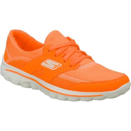 Women's Skechers GOwalk 2 Stance Orange