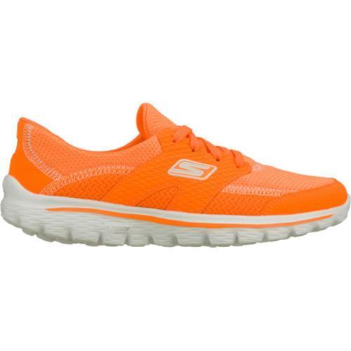 Women's Skechers GOwalk 2 Stance Orange - Thumbnail 1