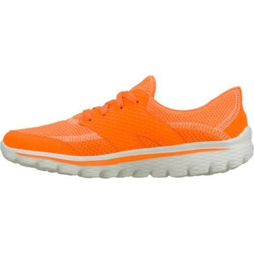 Women's Skechers GOwalk 2 Stance Orange - Thumbnail 2