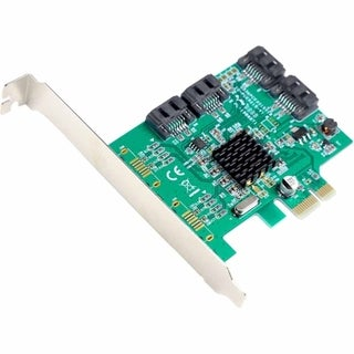 SYBA Multimedia SATA III 4-port PCI-e Controller Card, with Full and