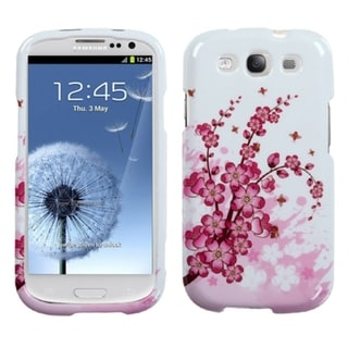 INSTEN Spring Flower Phone Case Cover for Samsung Galaxy S III/ S3 i9300