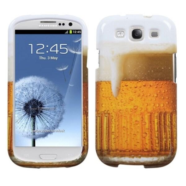 BasAcc Beer-Foodfight Case for Samsung Galaxy S III/ S3 i9300