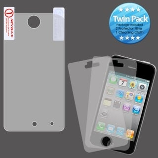 INSTEN Clear Screen Protector Twin Pack for Apple iPod touch 4th generation