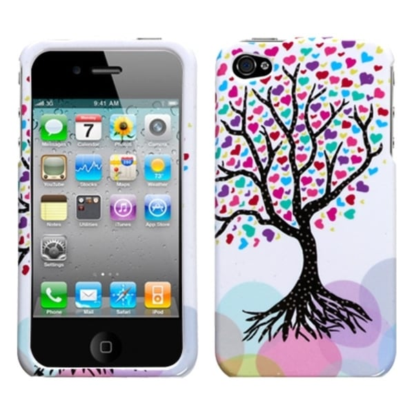 INSTEN Love Tree Phone Case Cover for Apple iPhone 4/ 4S