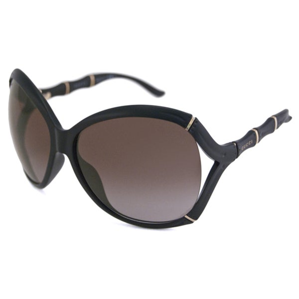 0aa99a066eb Shop Gucci Women s GG3509 Oval Sunglasses - Free Shipping Today ...