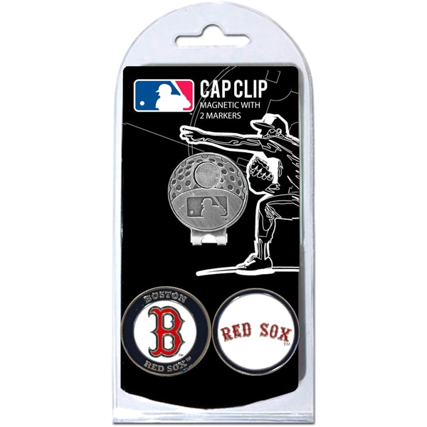 MLB Magnetic Cap Clip and Ball Marker Set