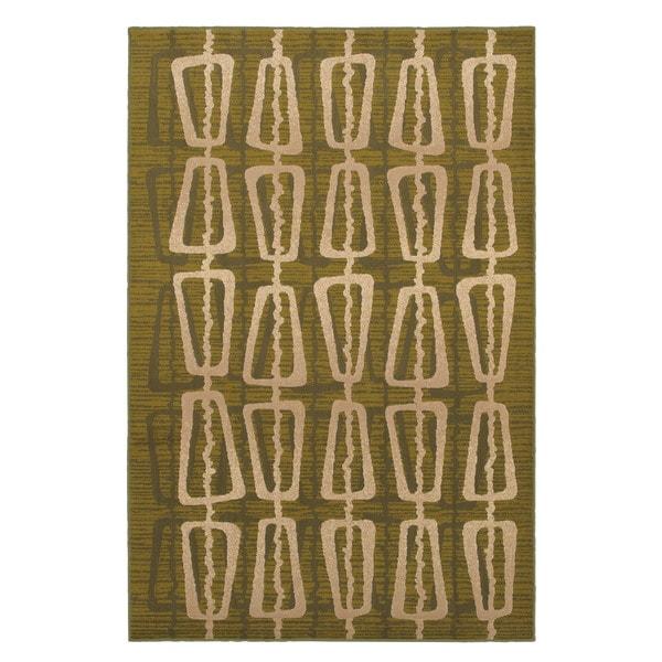 Abacus Green Rug (8' x 10')