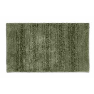 Somette Westport Stripe Deep Fern 24 x 40 Washable Bath Rug