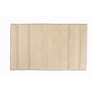 Somette Tranquility Cotton Natural 24 x 40 Bath Mat