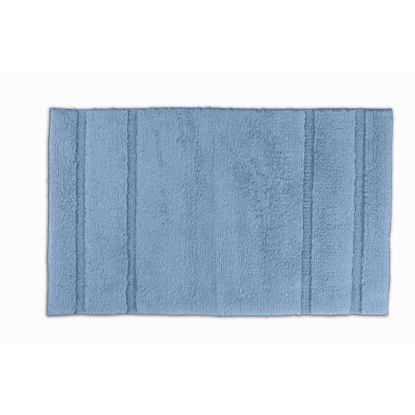 Somette Tranquility Cotton Sky Blue 24 x 40 Bath Mat