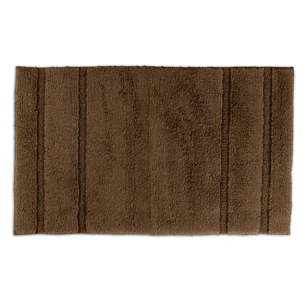 Somette Tranquility Cotton Chocolate Bath Rug