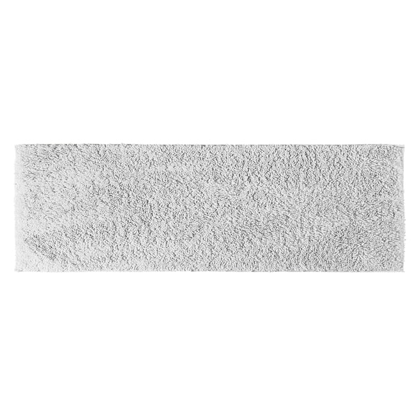Somette Grace White Cotton 22 x 60 Bath Runner Rug