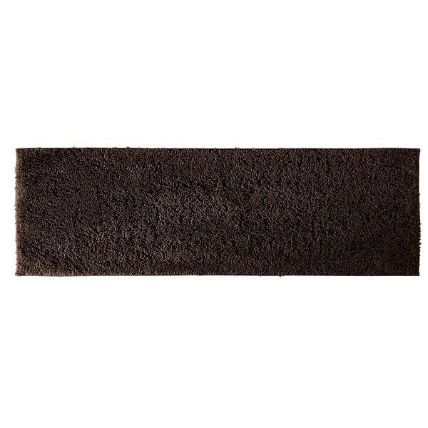 Somette Grace Chocolate Cotton 22 x 60 Bath Runner