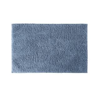 Somette Grace Sky Blue Cotton 24x40 Bath Rug