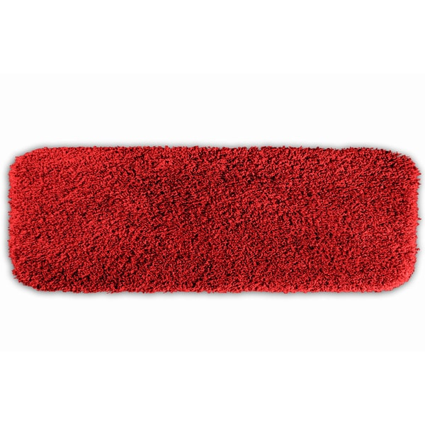 Somette Serenity Washable Chili Pepper Red 22 x 60 Bath Runner