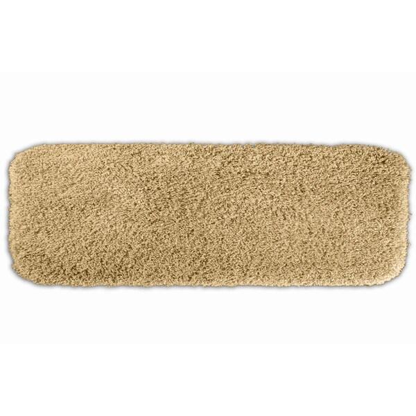 Somette Serenity Washable Golden Sand 22 x 60 Bath Runner