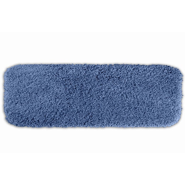 Somette Serenity Washable Basin Blue 22 x 60 Bath Runner Rug