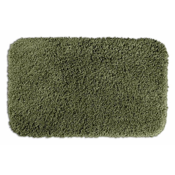Somette Serenity Plush Deep Fern 24 x 40 Bath Rug