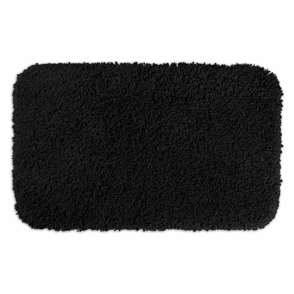Somette Serenity Black 24x40 Bath Rug