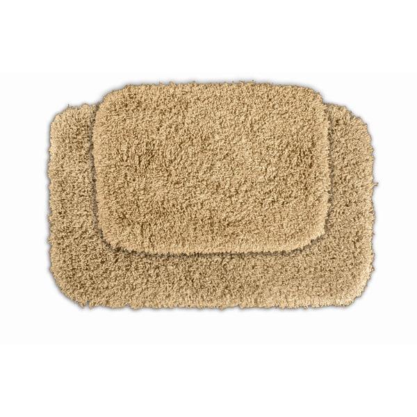 Somette Serenity Golden Sand Bath Rug (Set of 2)