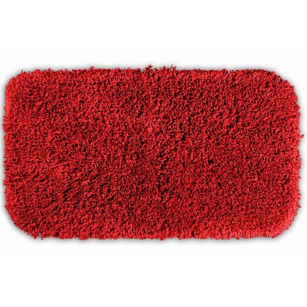 Somette Serenity Chili Pepper Red 30x50 Bath Rug