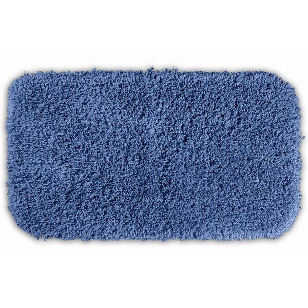 Somette Serenity Basin Blue 30 x 50 Bath Rug