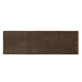 Somette Xavier Stripe Chocolate 22 x 60 Bath Runner