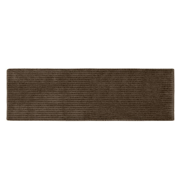 Somette Xavier Stripe Chocolate 22 x 60 Bath Runner