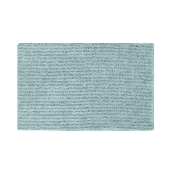 Somette Xavier Stripe Sea Foam 24x40 Bath Rug