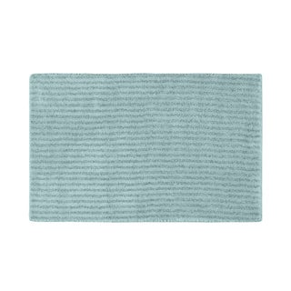 Somette Xavier Stripe Sea Foam 24x40 Bath Rug