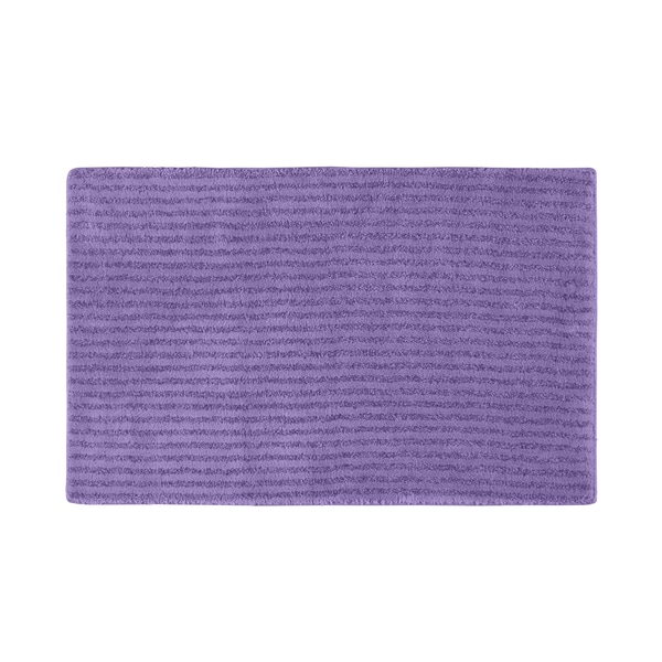 Somette Xavier Stripe Purple 24 x 40 Bath Rug