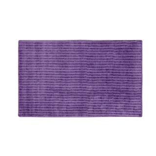 Somette Xavier Stripe Purple 30 x 50 Bath Rug