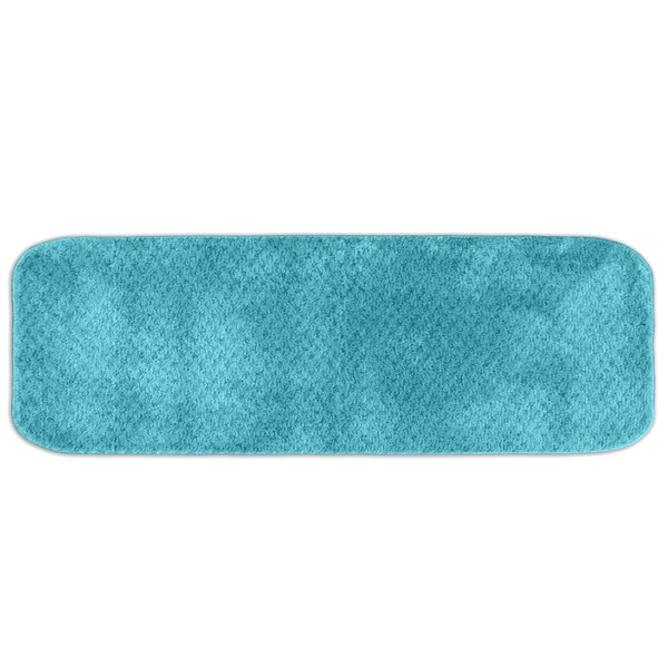 Somette Enliven Textured Sea Foam Bath Runner