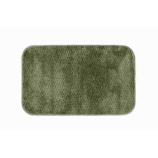 Somette Enliven Textured Deep Fern Green 24x40 Bath Rug