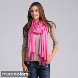 Saro Women's Plain Viscose Shawl