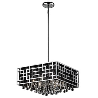 Mirach Six-Light Chrome Indoor Chandelier