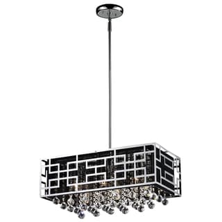Mirach 6-light Chrome Chandelier