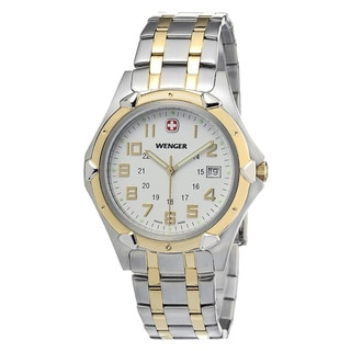 Wenger Men's Two-tone Swiss Quartz Watch