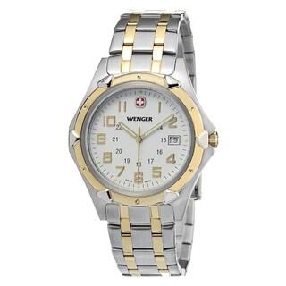 Wenger Men's Two-tone Swiss Quartz Watch