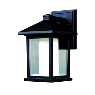 'Mesa' Black Outdoor Wall Light