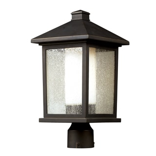 Mesa Oil-rubbed-bronze Aluminum Outdoor Post Light