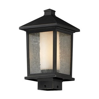 'Mesa' Oil-Rubbed Bronze Outdoor Post Light with Line Switch