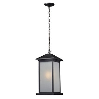 Large 'Vienna' Black Outdoor Chain Light