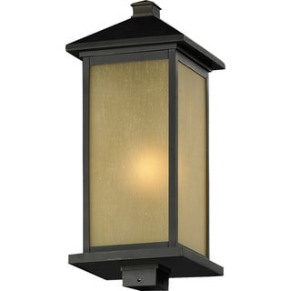 'Vienna' Oil-Rubbed Bronze Outdoor Glass Post Light