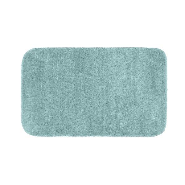 Somette Plush Deluxe Sea Foam 30 x 50 Bath Rug