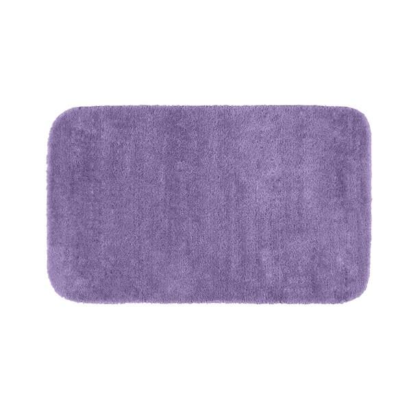Somette Plush Deluxe Purple 30 x 50 Bath Rug