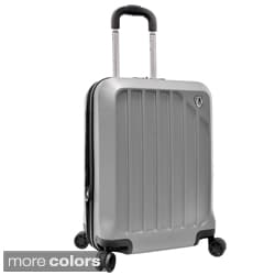 Travelers Choice Glacier 21-inch Hardside Expandable Carry On Spinner Upright