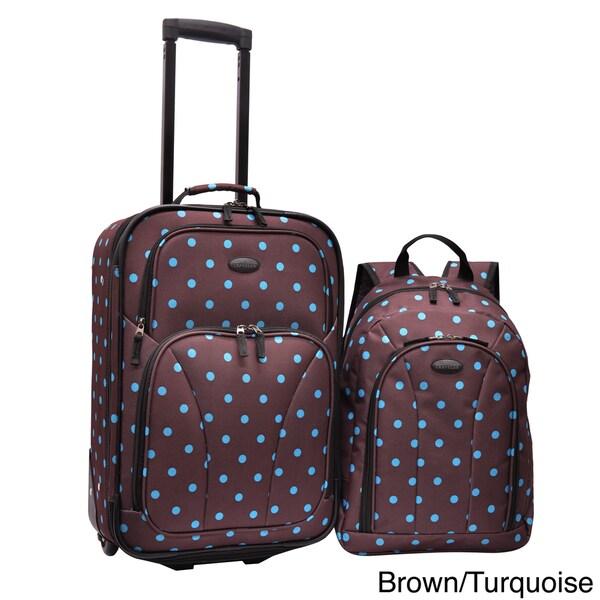 Shop U S Traveler By Traveler S Choice 2 Piece Polka Dot