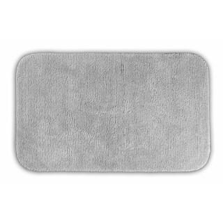 Somette Cheltenham Platinum Grey Runner Bath Rug