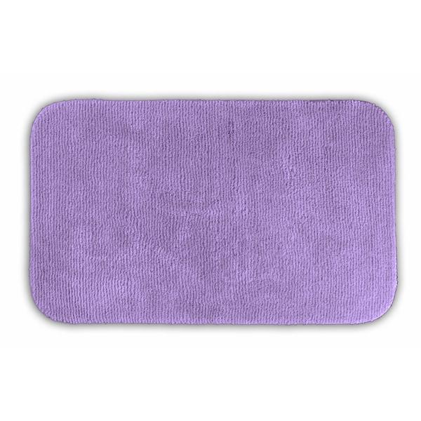 Somette Cheltenham Purple 24x40 Runner Bath Rug